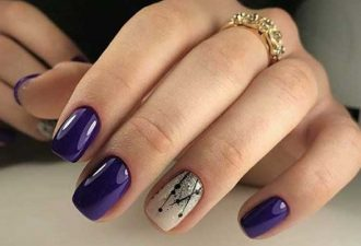 Свежий дизайн ногтей 2018