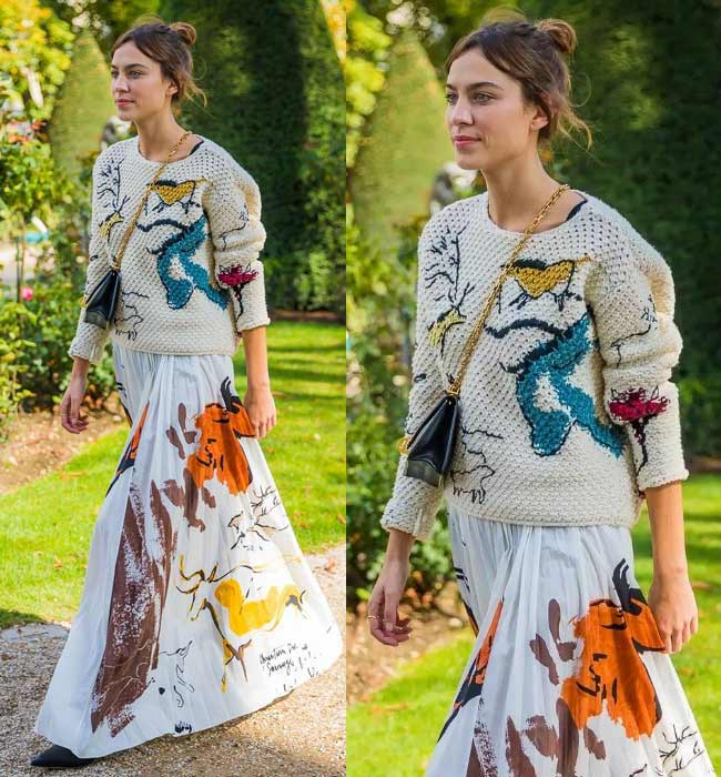 Модные женские свитеры на весну 2018: выглядим модно