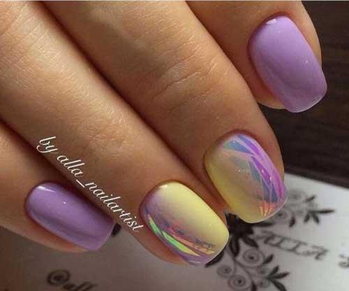 Дизайн ногтей 2018 фото новинки весна лето фиолетовые