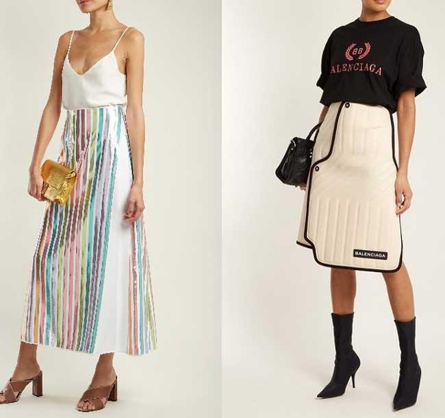 Модная универсальная юбка на весну и лето