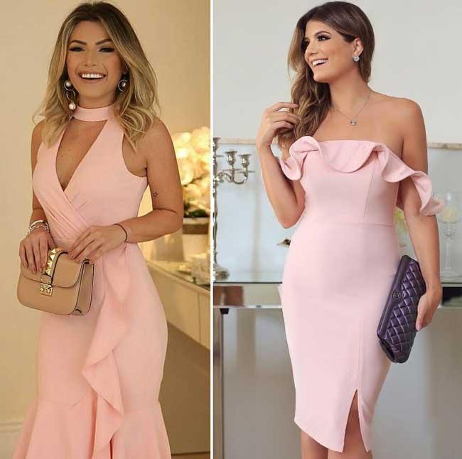 Светло-розовые тона в одежде