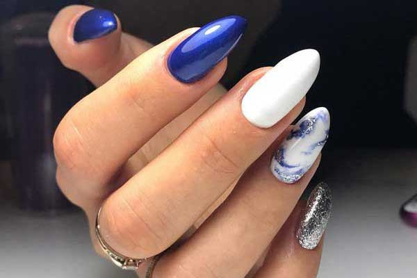 Эффект натуральных камней на ногтях: модный дизайн, фото, новинки 2018-2019