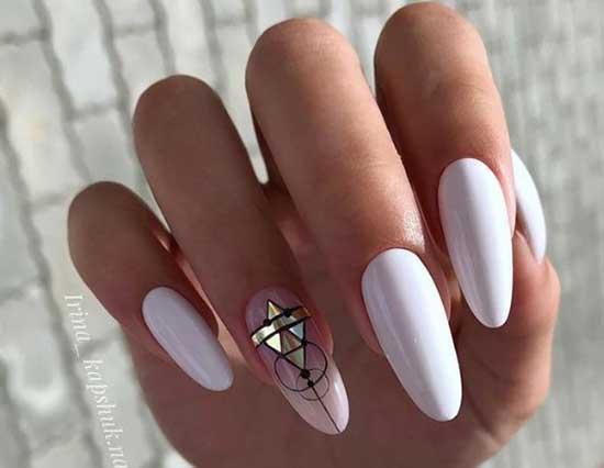Длинные накладные ногти