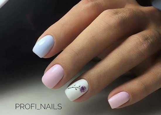 Минимализм в дизайне ногтей