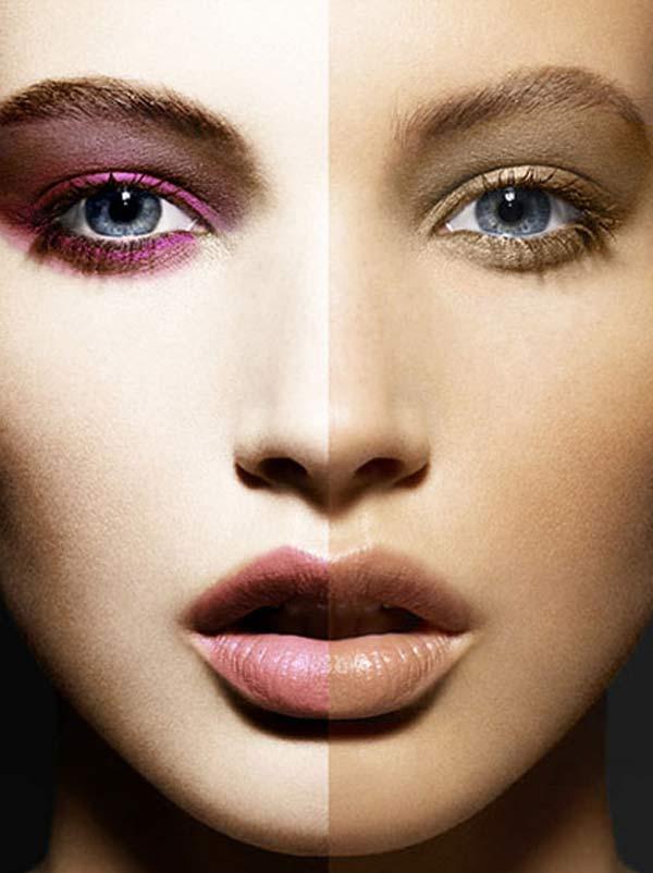 monochrome_makeup