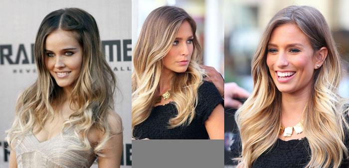 Модные идеи: окрашивание волос в стиле Ombre, фото