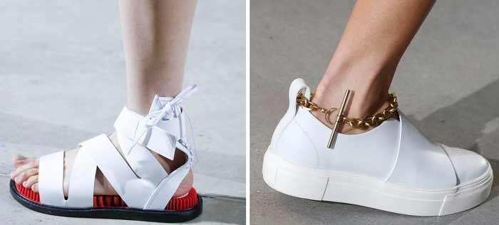 Босоножки и кроссовки примеры моделей