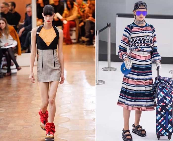 Тенденции обувной моды для женщин