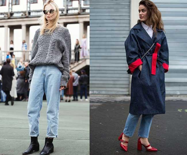 Как выглядеть стильно в джинсах бойфренд фото 2