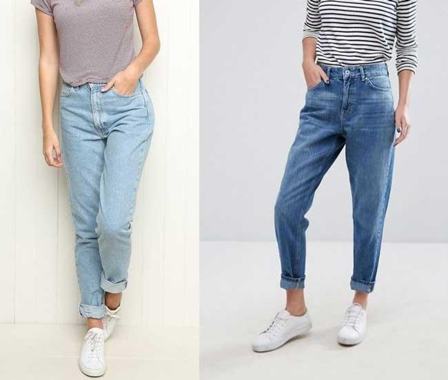 Как выглядеть стильно в джинсах бойфренд фото 3