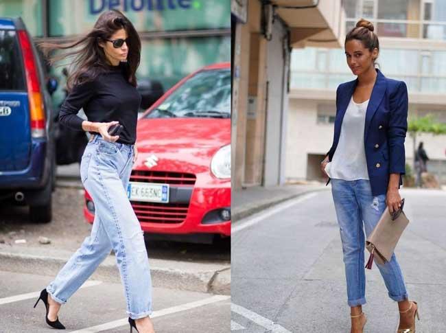 Как выглядеть стильно в джинсах бойфренд фото 4