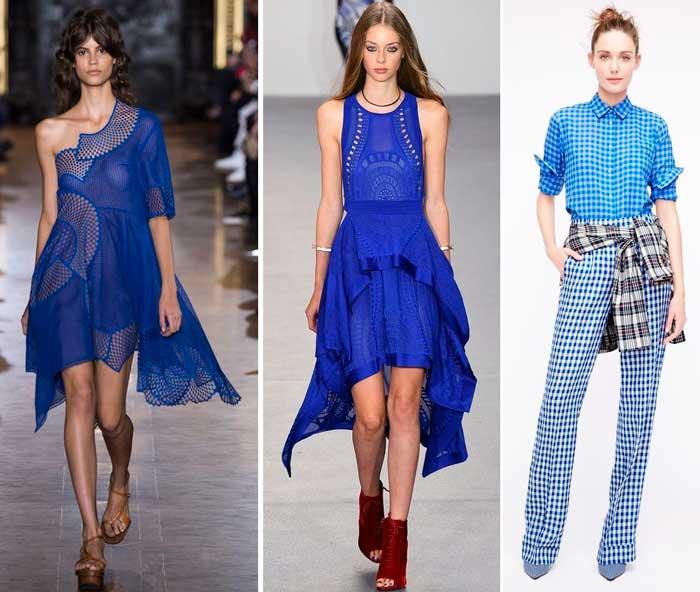модный синий цвет 2016