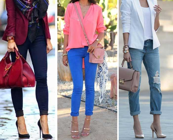Подвернутые джинсы: как правильно делать подвороты?