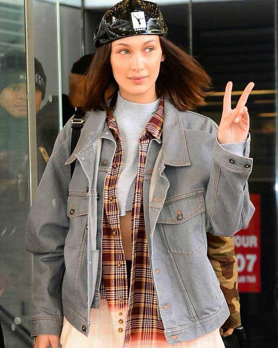 Жакет базовый джинсовый