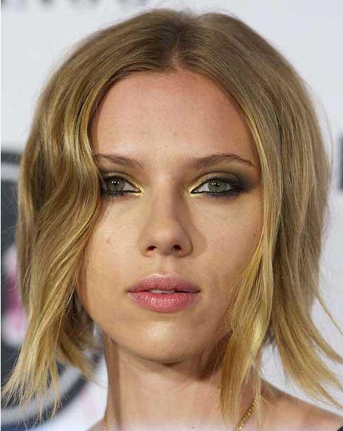 Scarlett-Johansson причёска 2016