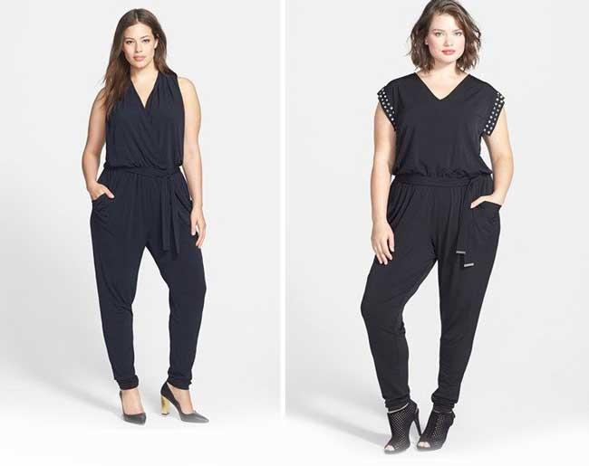 Как одеваться, чтобы выглядеть выше и стройнее - одноцветный аутфит