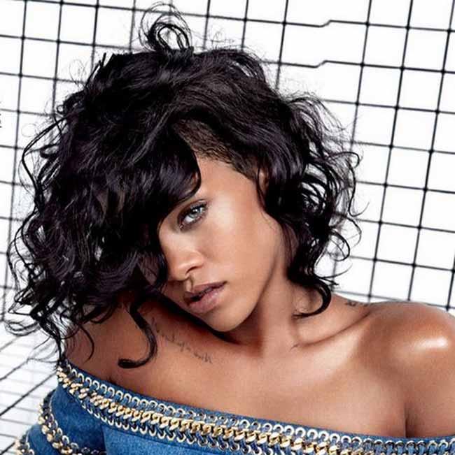 Rihanna 2014 год укладка