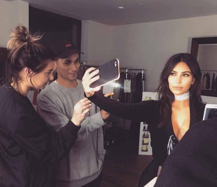 Kim-Kardashian и чокер