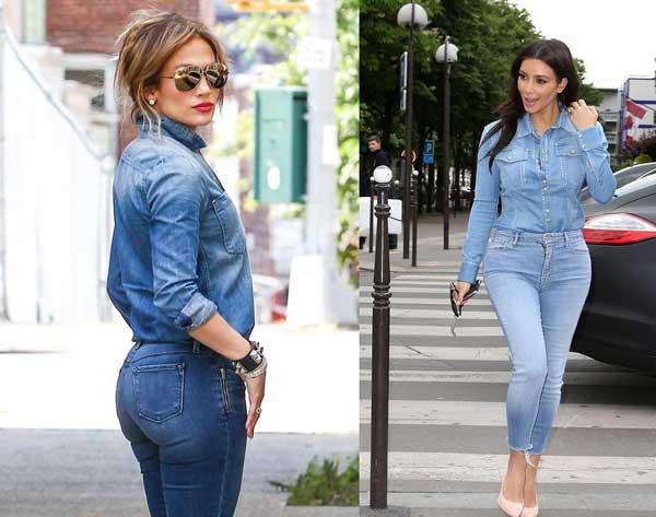 Как носить джинсы скинни девушкам с аппетитными формами фото 2