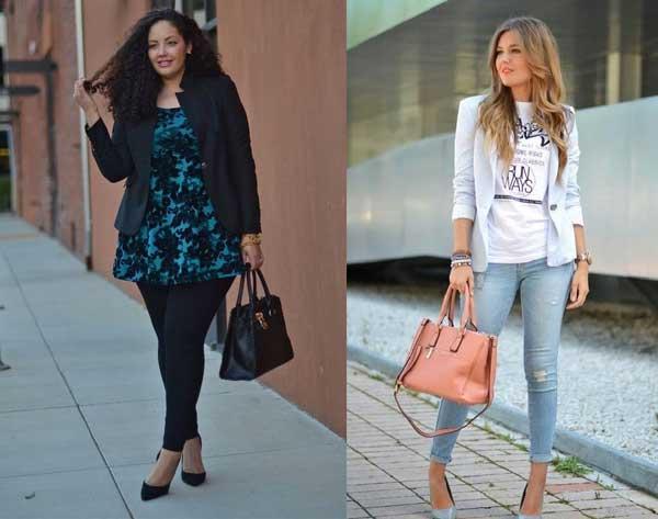 Как носить джинсы скинни девушкам с аппетитными формами фото с туфлями