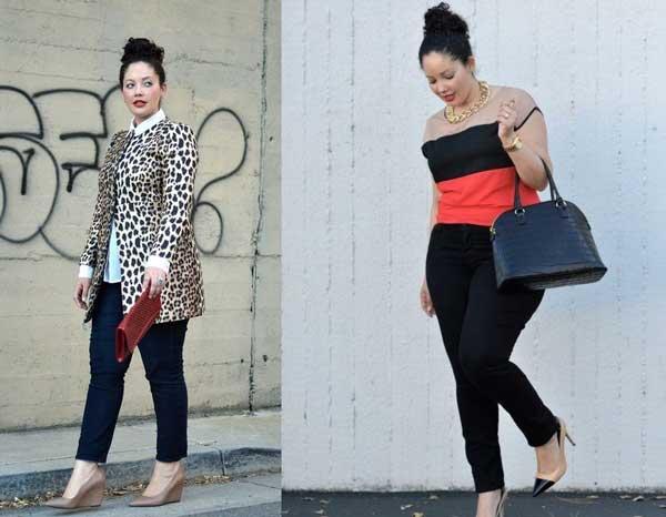Как носить джинсы скинни девушкам с аппетитными формами - комплекты одежды