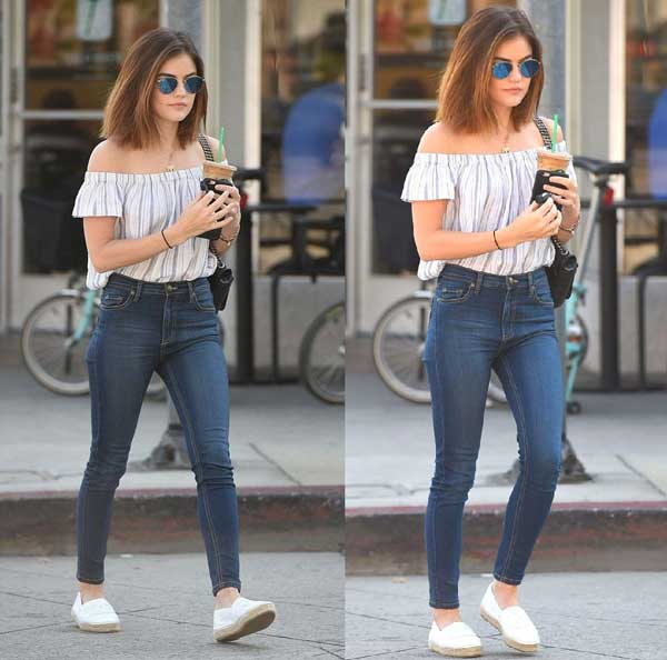 Как носить джинсы скинни девушкам с аппетитными формами