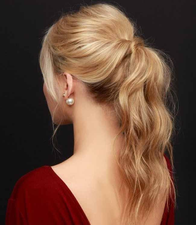 Нехитрая укладка волос
