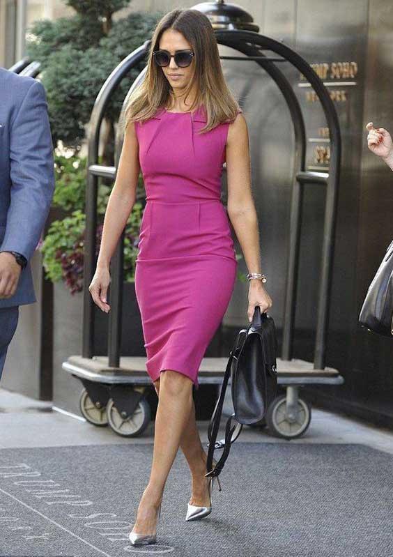 Платье +серебристая обувь