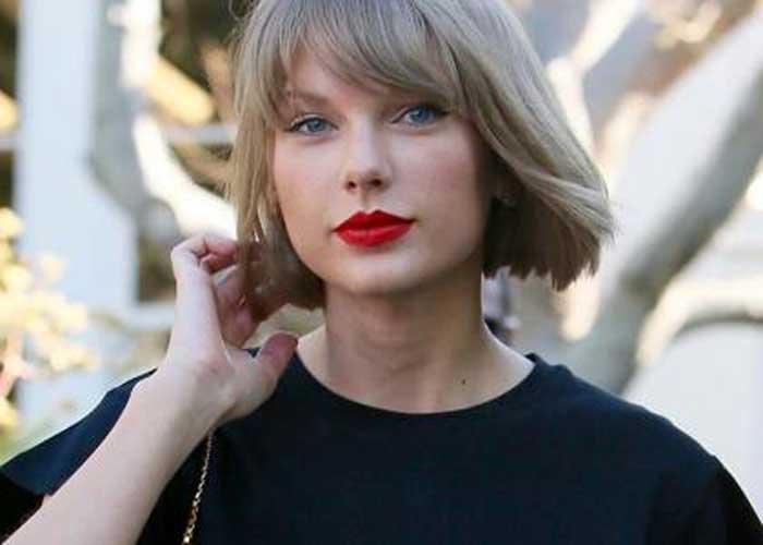 Taylor Swift нюд оттенок волос