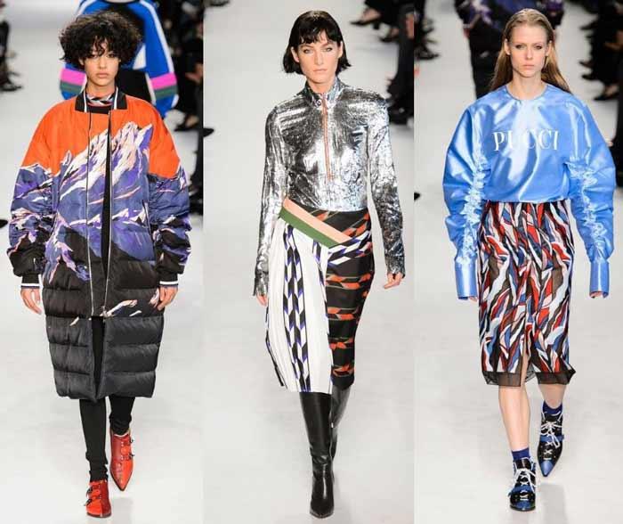 Металлические оттенки модные