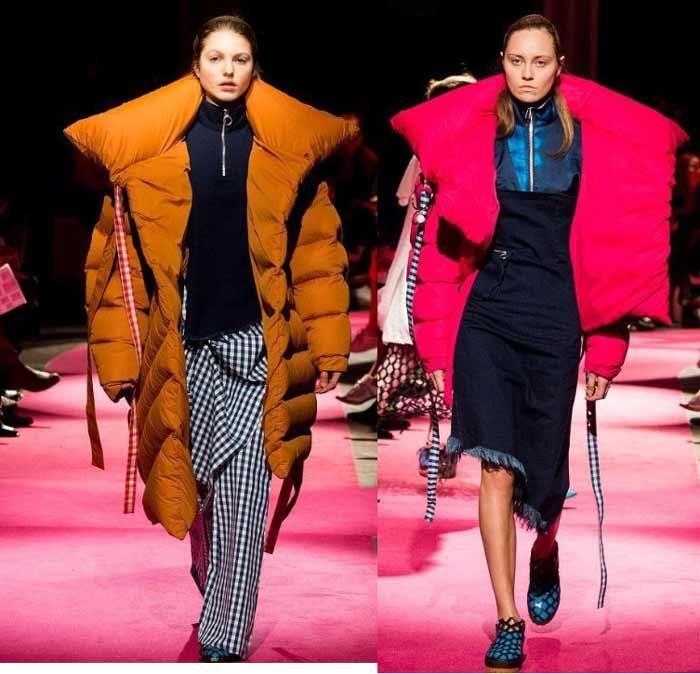 Пуховик одеяло модная модель