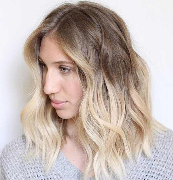 Приме модного окрашивания для блондинок