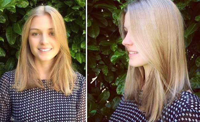 Стробинг волос новый тренд светлые волосы
