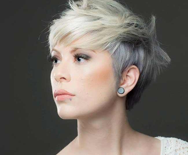 Блонд + серый подтон