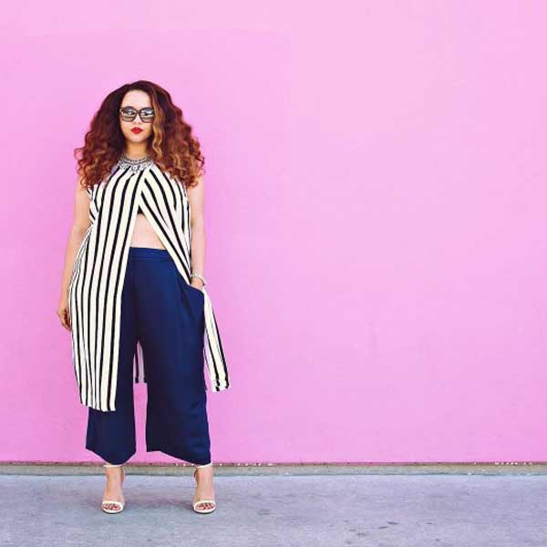 15 стильных образов от модели plus-size: только для девушек с формами