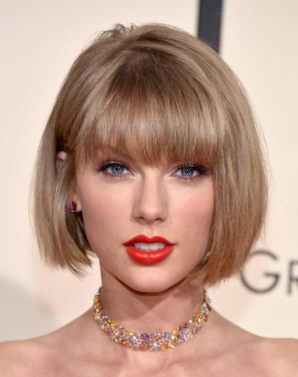 Прическа Taylor-Swift-Haircut-Grammy-Awards-2016