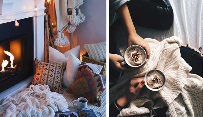 Уютный домашний стиль hygge