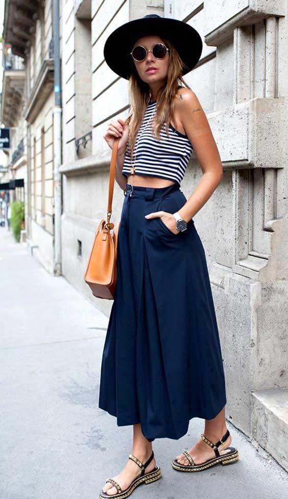 Каблук и длина юбки - взаимосвязь, как правильно