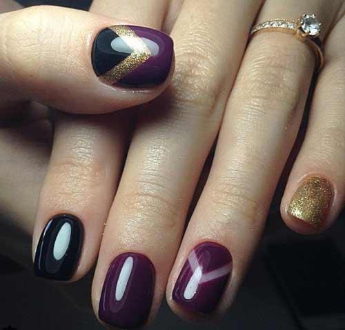 Цвет и дизайн для увеличения длины ногтей