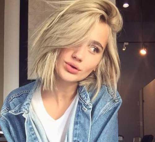 Bob-Hair-2017 блондинка
