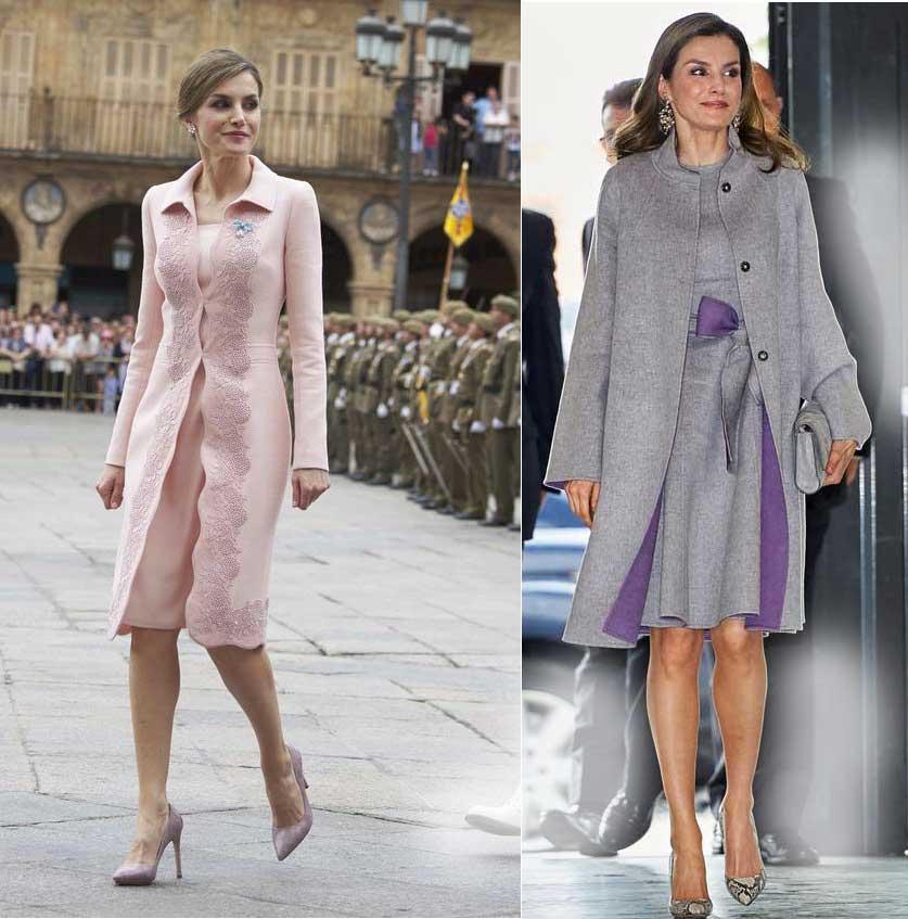 Летиция королева испании стиль-элегант