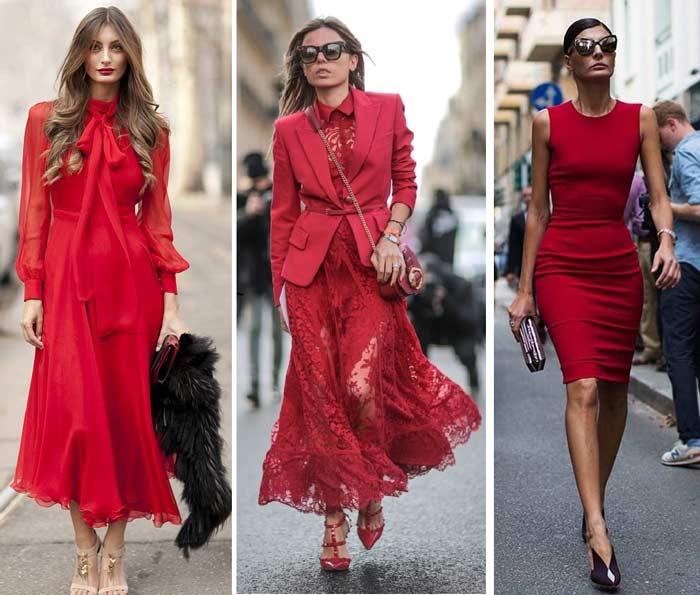 Три варианта платья и разные образы -классика