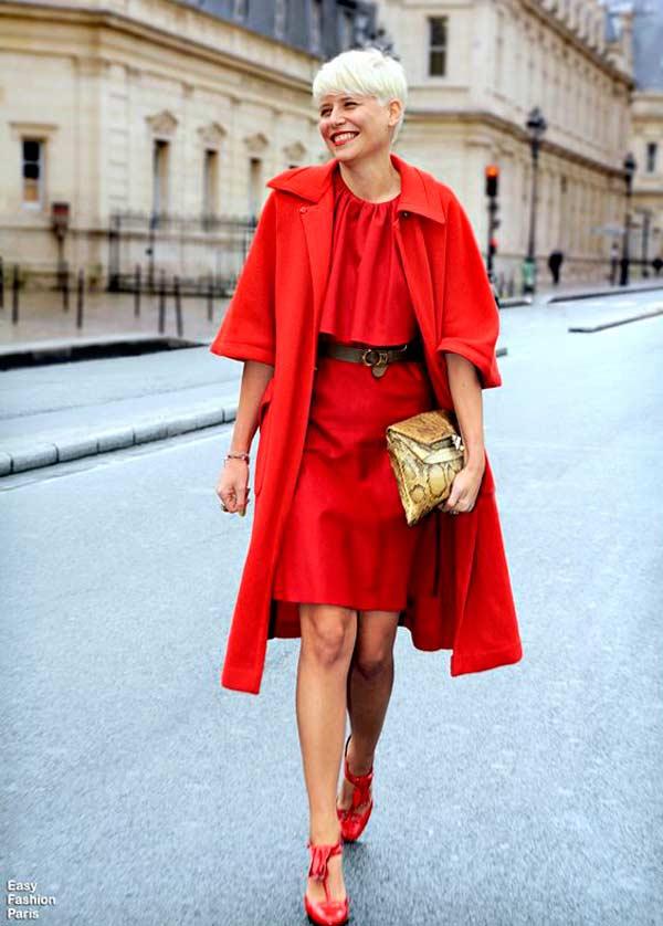Образ red dress
