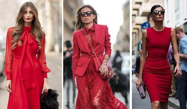 Красное платье: какие туфли и аксессуары к нему выбрать?