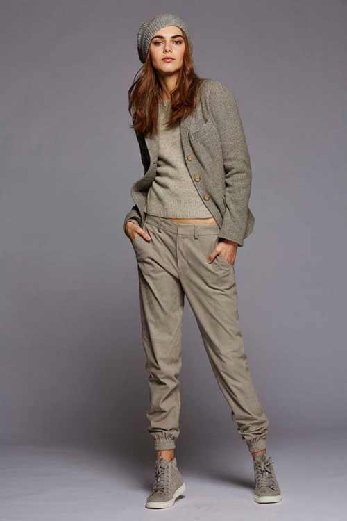 Короткие брюки с манжетами