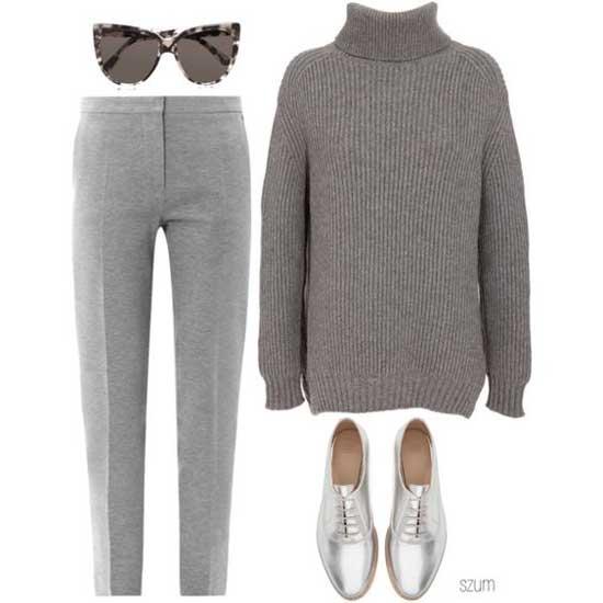 monochrome серый