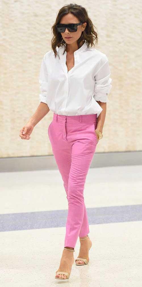 Victoria Beckham белая рубашка