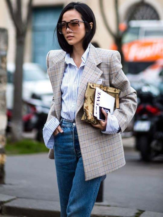 Образы с классической рубашкой