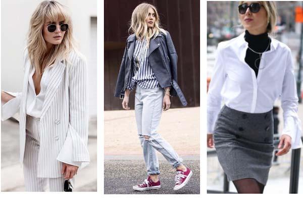 5 способов носить классическую рубашку по-модному