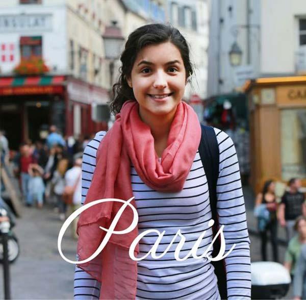 Стиль молодой француженки